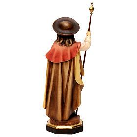 Saint James The Greater statue, in Valgardena wood s4