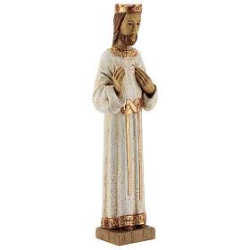 Sacro Cuore di Gesù Bethléem veste bianca 20 cm s4