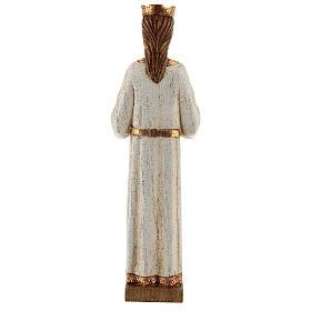 Sacro Cuore di Gesù Bethléem veste bianca 20 cm s5