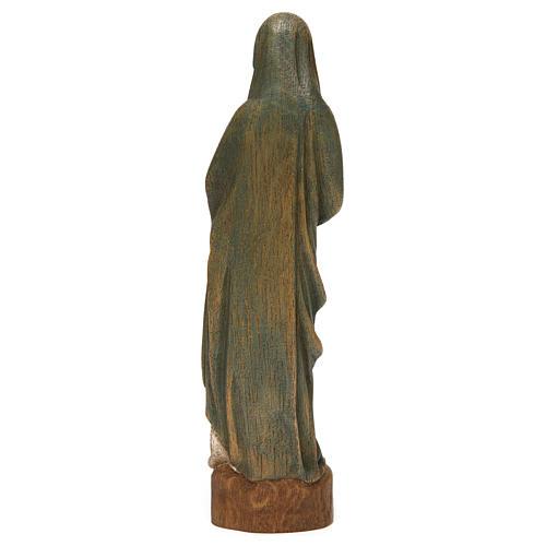 Statua Vergine dell'Annunciazione 25 cm legno Bethléem 5