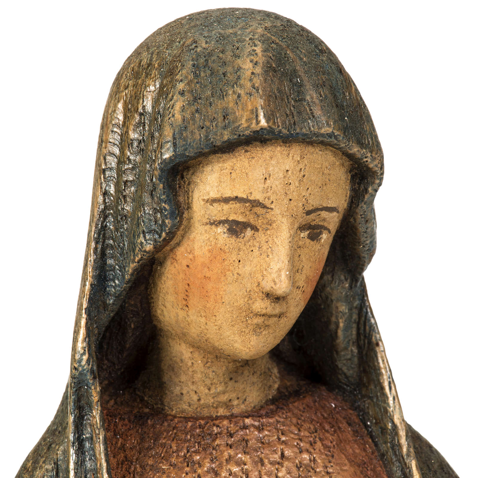 Virgin of the Annunciation statue, 25 cm Betlem monastery 4