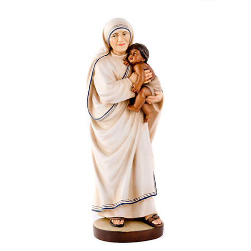 Mother Therese of Calcutta statue 1