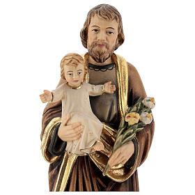 Heilig Joseph mit Kind und Lilie s4