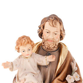 San Giuseppe con Bambino e giglio s4