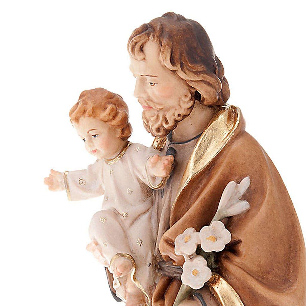 Saint Joseph with Baby Jesus and lily 4
