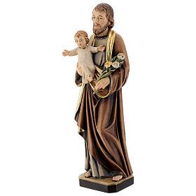Saint Joseph with Baby Jesus and lily s3