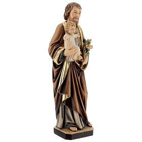 Saint Joseph with Baby Jesus and lily s5