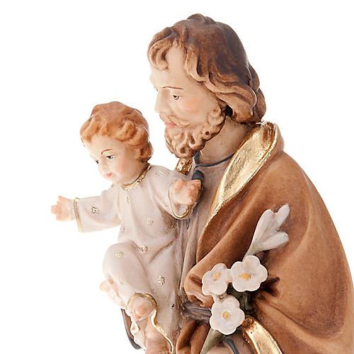 Saint Joseph with Baby Jesus and lily 3
