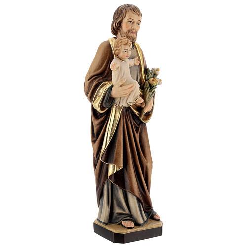 Saint Joseph with Baby Jesus and lily 5