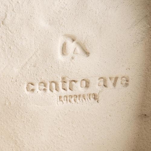 Statua argilla Madonna dell'Accoglienza 33 cm 7
