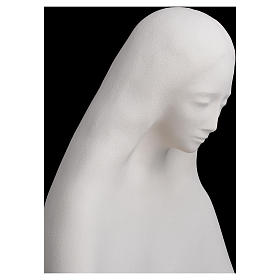 Mary with open arms in fireclay 50 cm s11