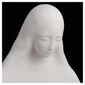 Estatua de arcilla virgen de la Acogida 50 cm s10