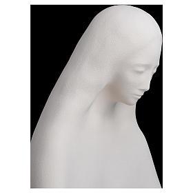Estatua de arcilla virgen de la Acogida 50 cm s5