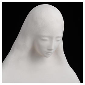 Mary with open arms in fireclay 50 cm s10