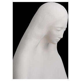Mary with open arms in fireclay 50 cm s5