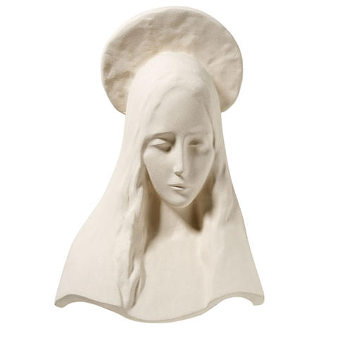 Mary of annunciation - face 43 cm 1