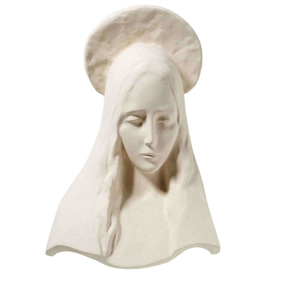 Mary of annunciation - face 43 cm 4