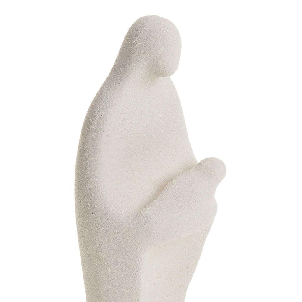 Statua Presentazione argilla su base 4