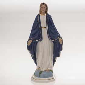 Imagem Nossa Senhora Milagrosa 18,5 cm cerâmica s1