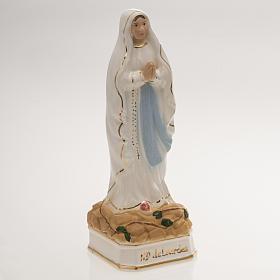 Ceramic statue, Our Lady of Lourdes 16cm s2
