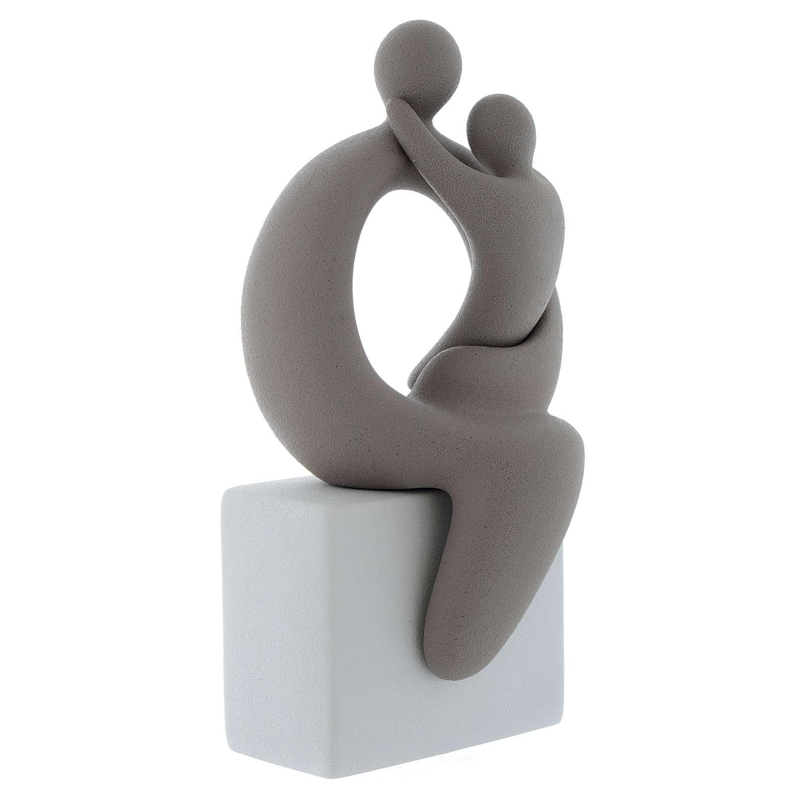 Maternità grigia con base bianca gres porcellanato 27 cm 4
