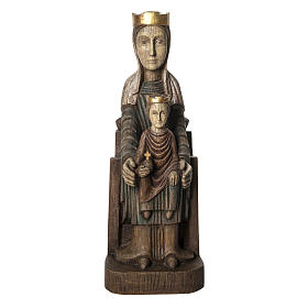 Vergine Incoronata di Séez 66 cm legno dipinto Bethléem s1