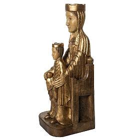 Gottesmutter von Seez 66cm aus Holz goldenen Finish, Bethleem s3