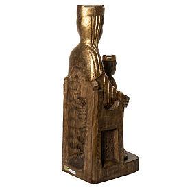 Gottesmutter von Seez 66cm aus Holz goldenen Finish, Bethleem s4