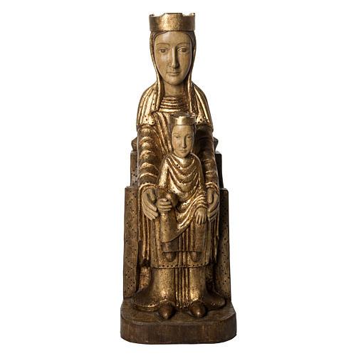 Gottesmutter von Seez 66cm aus Holz goldenen Finish, Bethleem 1