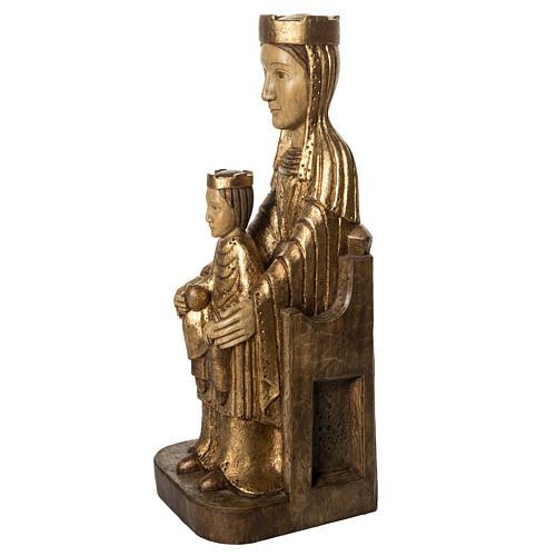Gottesmutter von Seez 66cm aus Holz goldenen Finish, Bethleem 3