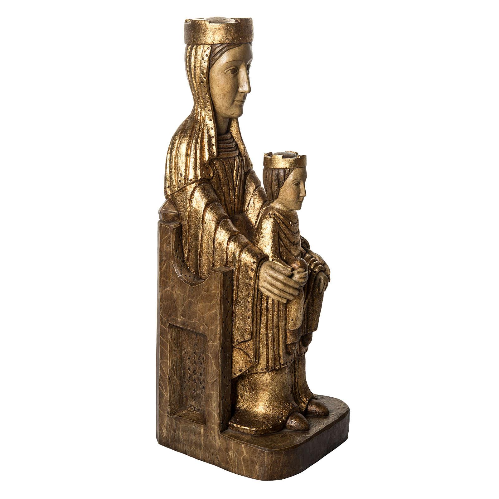 Vergine Incoronata di Séez 66 cm legno dorato Bethléem 4