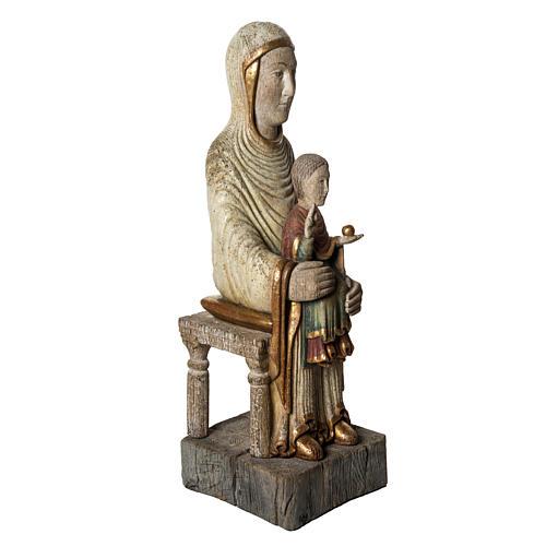 Sedes Sapientiae 72 cm legno finitura antico Bethléem 2
