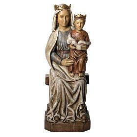 Notre Dame de Liesse 66 cm bois peint Bethléem s1