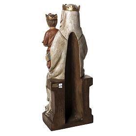 Notre Dame de Liesse 66 cm bois peint Bethléem s4