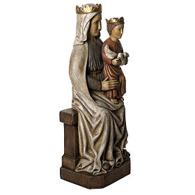 Our Lady of Liesse statue, 66cm in painted wood, Bethléem s2