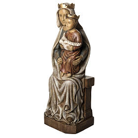 Our Lady of Liesse statue, 66cm in painted wood, Bethléem s3