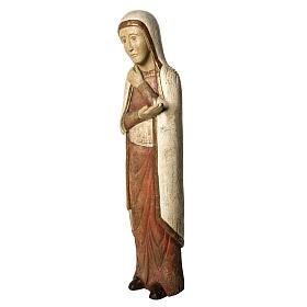 Vierge de Batloo 78 cm bois ancien Bethléem s3