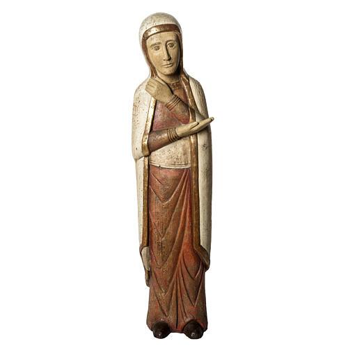 Vierge de Batloo 78 cm bois ancien Bethléem 1