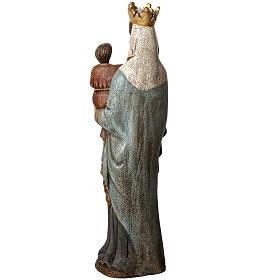 Notre Dame de Bourguillon 74 cm legno dipinto Bethléem s4