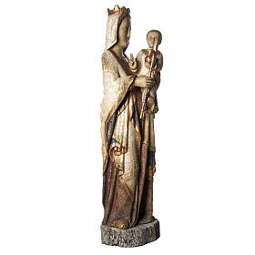 Vierge du Lyonnais 120 cm legno finitura antica Bethléem s2