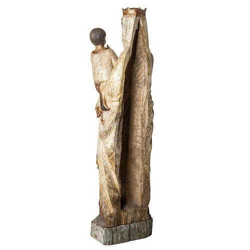 Vierge du Lyonnais 120 cm legno finitura antica Bethléem 4
