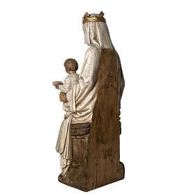 Notre Dame de Rosay 105cm Holz, antikisiertes Finish s4