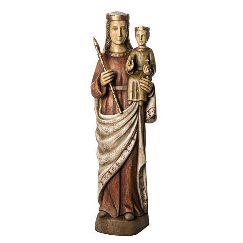 Vergine Normanna 103 cm legno dipinto Bethléem 1