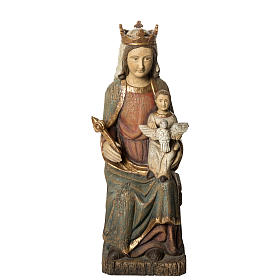 Vierge de Rosay 60 cm legno dipinto Bethléem s1