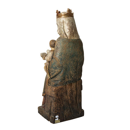 Vierge de Rosay 60 cm legno dipinto Bethléem 4