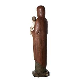 San Giuseppe con bimbo e colomba 123 cm legno s4
