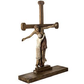 Grablegung Christi 105cm Holz antikisiertes Finish s2