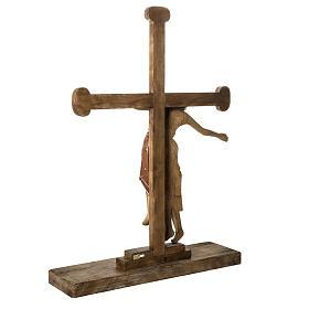 Grablegung Christi 105cm Holz antikisiertes Finish s4