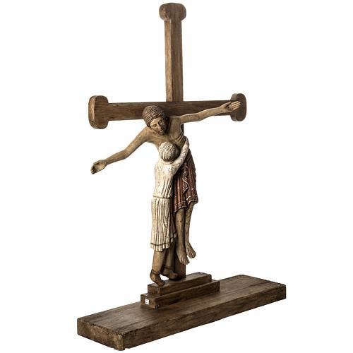 Grablegung Christi 105cm Holz antikisiertes Finish 2