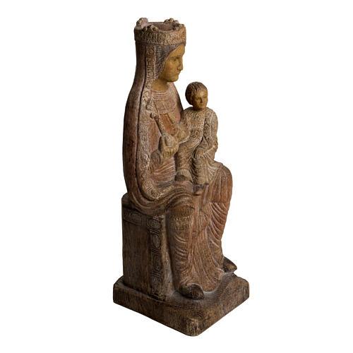 Vergine di Solsona 36 cm legno anticato Bethléem 2